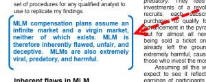 mlm information